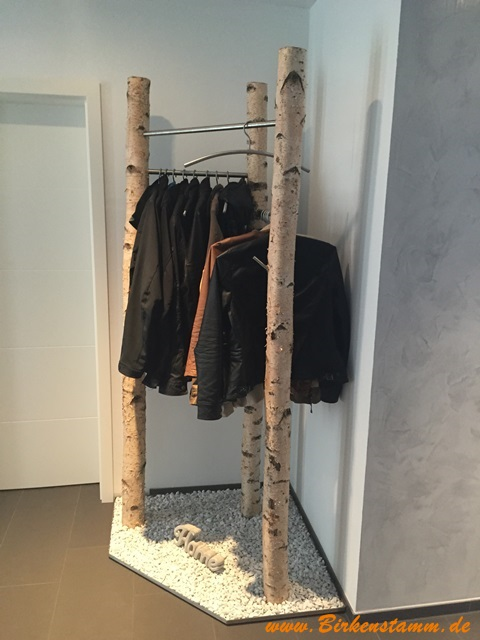 Birkenst mme f r ihr individuelles wohnambiente Garderobe birke